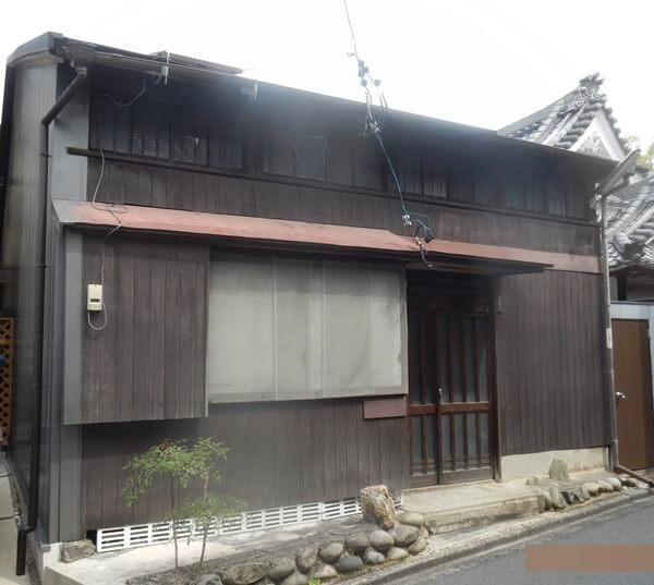 愛知県名古屋市木造家屋解体