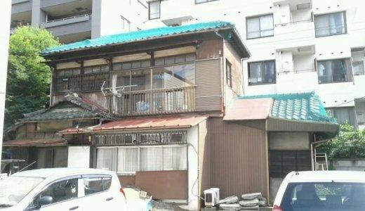 東京都武蔵野市 34坪木造2階建て家屋の解体事例