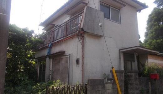 借家の解体工事を人生で初めて行いました。