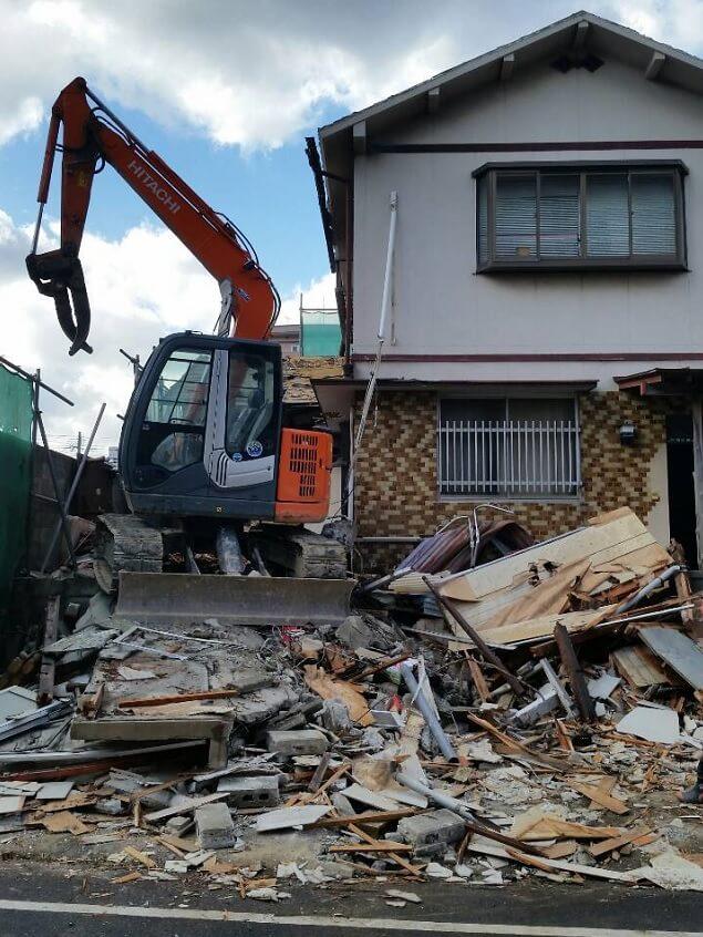 借地権のある解体工事