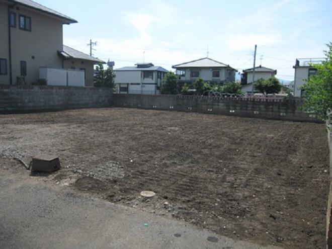 愛知県内にある実家の解体工事を行いました。