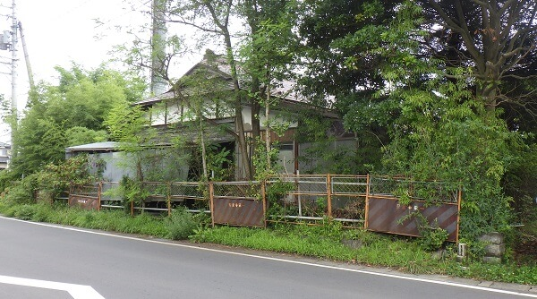 解体前の家屋