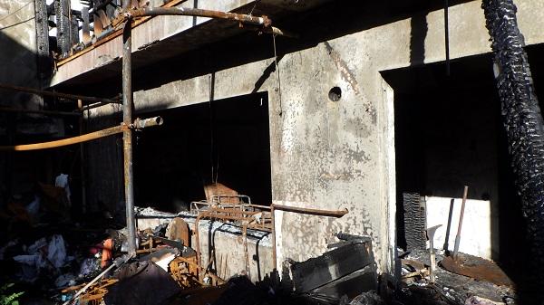 火災に遭ってしまった家屋3