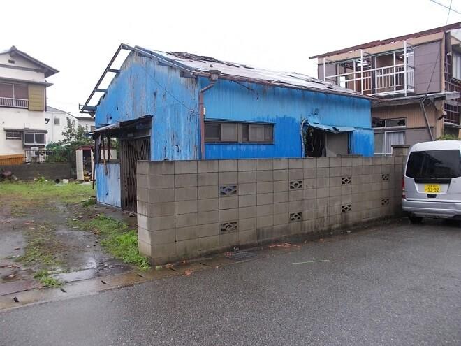 【千葉市の解体工事】突然の突風被害。急ぎの解体工事も迅速に対応してくれました
