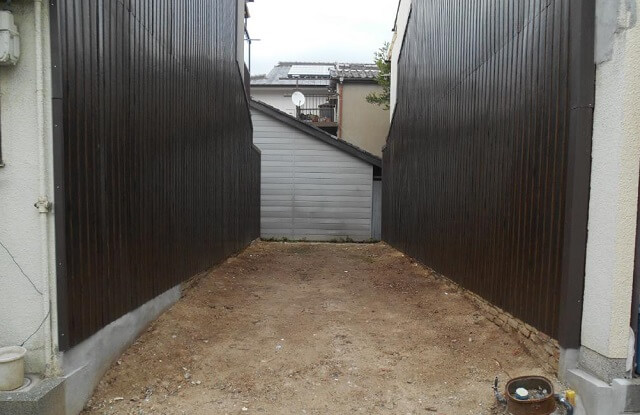 外壁補修工事後