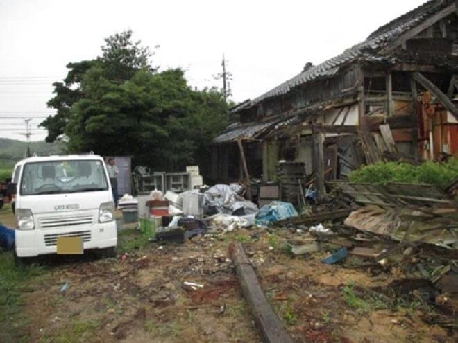 【山口市の解体工事】半壊した建物の取り壊し。解体業者の親身な対応に感謝