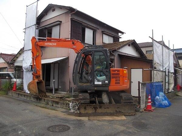 【千葉県市川市】相続をした土地にある木造家屋解体の実体験