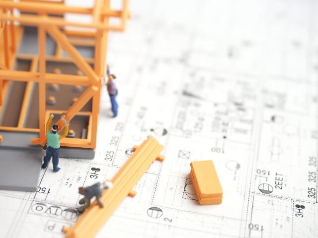 家の増築に関わる書類