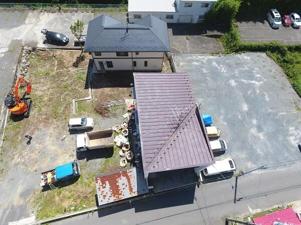 上空からの航空写真