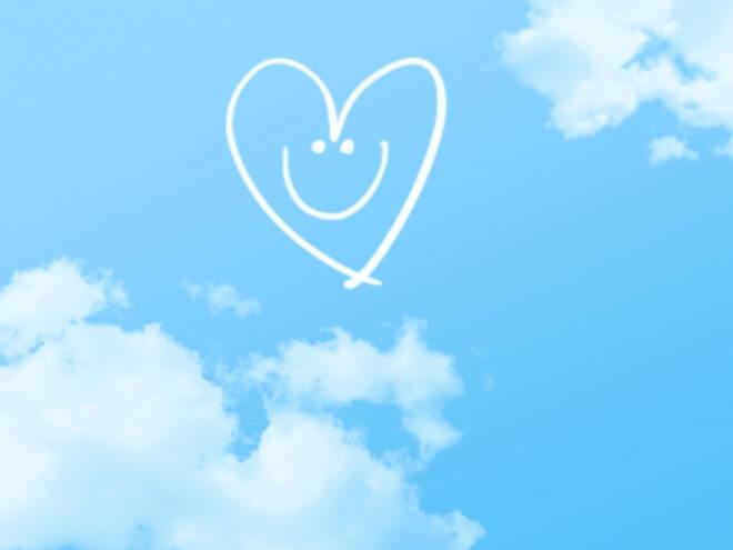 空とハート