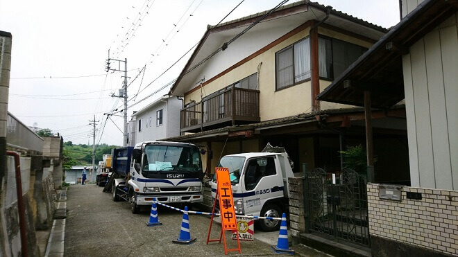 【群馬県富岡市】解体工事の分離発注と相見積もりで費用総額が安くなりました