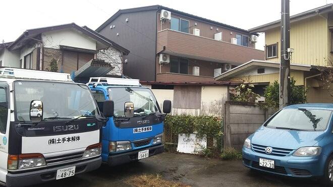神奈川県鎌倉市・業者探しから1ヶ月で解体し借地返却できました
