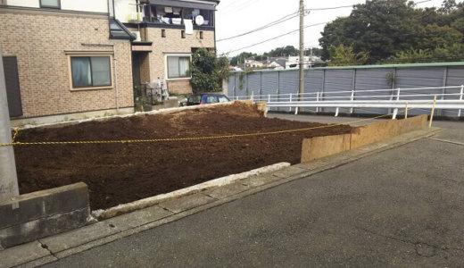 神奈川県川崎市・しっかりとした整地で坂道沿いの解体工事が無事終了