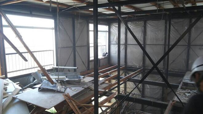 神奈川県横浜市・火災で全焼した家でも速やかな解体工事ができました