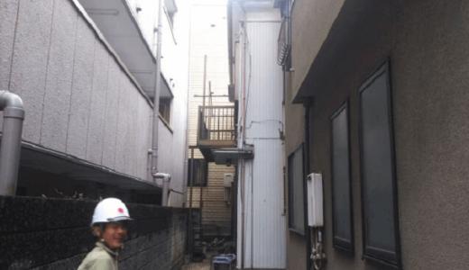 横浜市・木造2階建ての空き家を解体して駐車場として土地利用できました