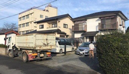 埼玉県本庄市 木造2階建て家屋の解体事例