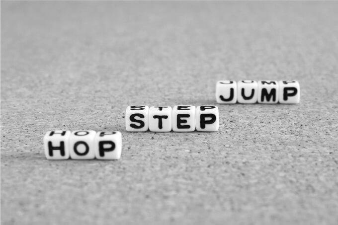 HOP,STEP,JUMP