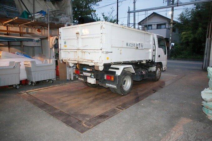 一般廃棄物受け入れ施設での計量