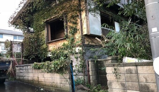 千葉県市川市 木造2階建て家屋の解体事例