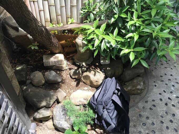 お庭の写真2