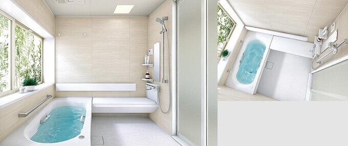 浴室モデル