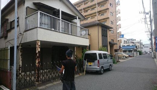 千葉県千葉市若葉区 住宅地で木造2階建て家屋解体工事を行いました