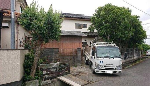 埼玉県川越市 木造2階建ての解体事例