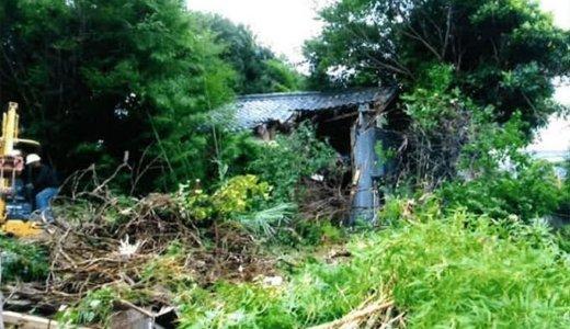埼玉県深谷市 41坪の木造2階建て家屋の解体事例