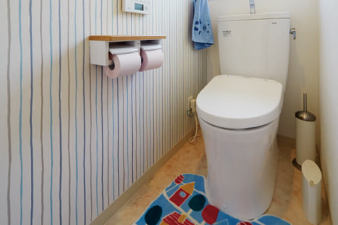 リフォームの事例-トイレ