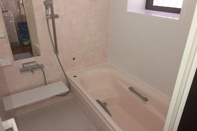 リフォームの事例-浴室