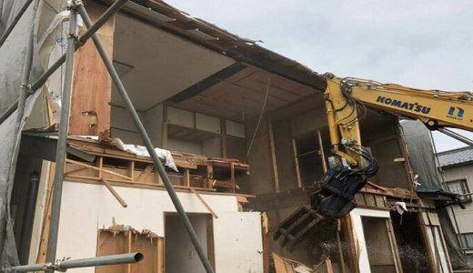 埼玉県熊谷市 木造2階建て30坪の解体事例
