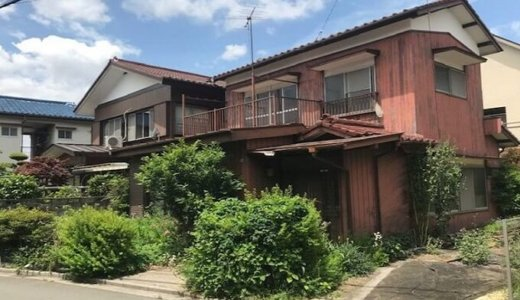 埼玉県さいたま市桜区  木造2階建ての解体事例