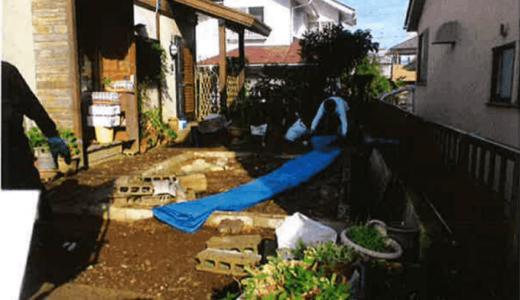 宮城県仙台市泉区で平屋建てプレハブ物置3坪を解体工事しました