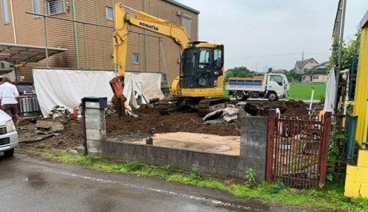埼玉県狭山市 鉄骨造と木造の建物を一度に取り壊した解体事例