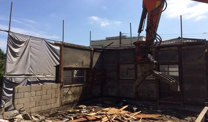 木造住宅の解体