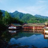 厳島神社の光景