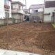解体工事の整地